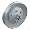 Alko tractor mower sit on mower uk spares top blade pulley part number Ak514098-