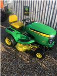 Used Countax C400H ride on mower with 42 inch cut powered grass collector