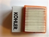 Kohler Courage 6.5 engine paper element air filter Kohler uk parts