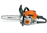 Stihl MS181CBE homeowner use petrol chainsaw 16 inch 40 cm bar