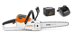 Stihl MSA120CBQ cordless domestic chainsaw set battery powered