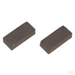Peerless Tecumseh rear axle brake pads for Ride on mower pattern
