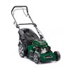 Atco Quattro 19SH self propelled lawnmower with collector mid size