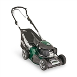 Atco Quattro 19SH V self propelled lawnmower with collector mid size