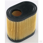 Tecumseh engine spares oval paper cartridge air filter