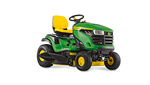 John Deere X127 Ride on tractor mower mulch or side discharge