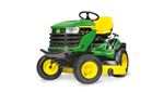 John Deere X167 Ride on tractor mower mulch or side discharge