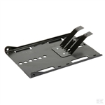 Alko tractor mower spares Hayter RS sit on mower seat mounting plate part number ak514612-