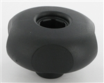 Castelgarden Atco Mountfield Stiga spare parts UK HANDWHEEL w/o NUT M8 [BLACK] part number ca3223998041