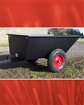 Trailers for ride on mower SCH budget trailer for sit on mower