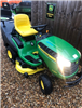 Used Etesia MBHE bahia  ride on collecting mower hydrostatic