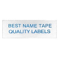 Name Tape Labels - Blue - 2 Line