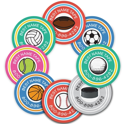 COLOR SPORTS - CIRCLE PERFORMANCE LABELS