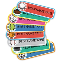 COLOR SPORTS - RECTANGLE PERFORMANCE LABELS