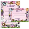 Girls sport themed stationery.