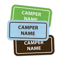 <!005>CAMP LAURELWOOD - RECTANGLE PRESS-ON LABELS