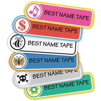 LOGOS - RECTANGLE PRESS-ON LABELS