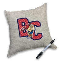 Be the happiest camper with the most autographs. Get your pillow autographed by all your bunkmates!
