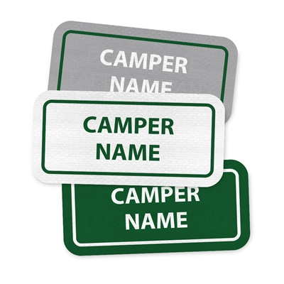 <!009>WAVUS CAMP - RECTANGLE PERFORMANCE LABELS