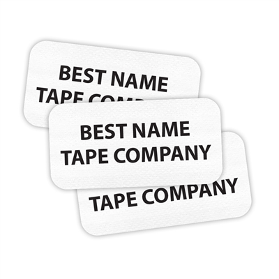 WHITE - RECTANGLE PERFORMANCE LABELS