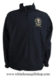 The White House National Security Council Situation Room Windbreaker, Navy Blue
