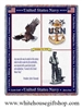 U.S. Navy Blanket honoring men and women in the USN and Naval Military veterans