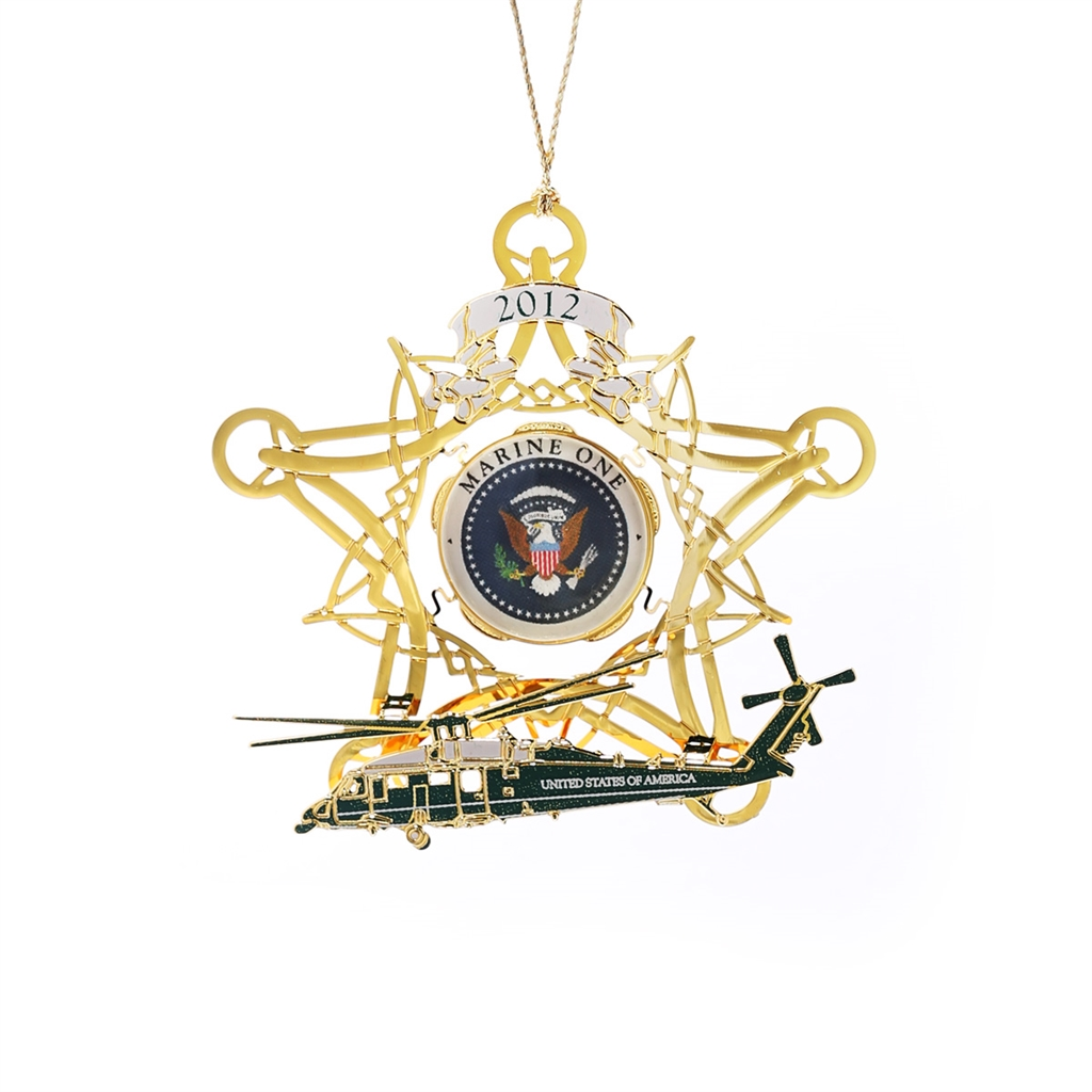 White house christmas ornaments historical society - 2012 White House Ornament