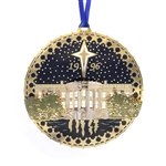 1996 White House Christmas and Holidays Ornament Designed by Artist Anthony Giannini for the Official White House Gift Shop. Compare with Historical Association and Society.
