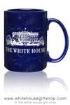 White House Mug, Etched in USA, American engraving