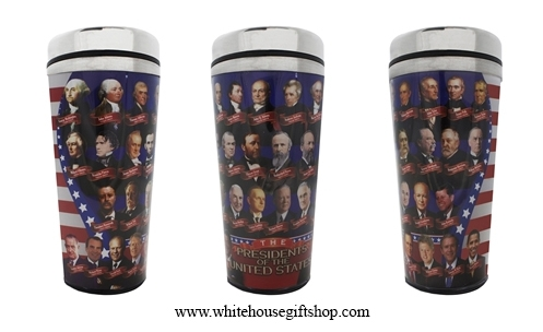 All Presidents of the United States Travel Mug