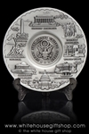 Great Seal Pewter Plate