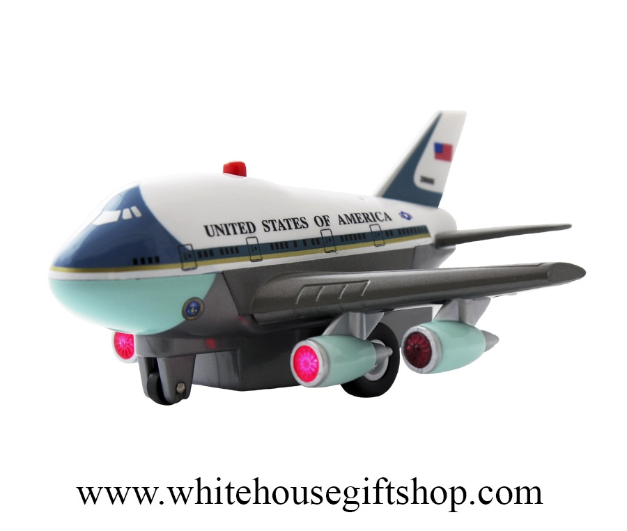 Daron Air Force One Pullback Plane With Sound Light