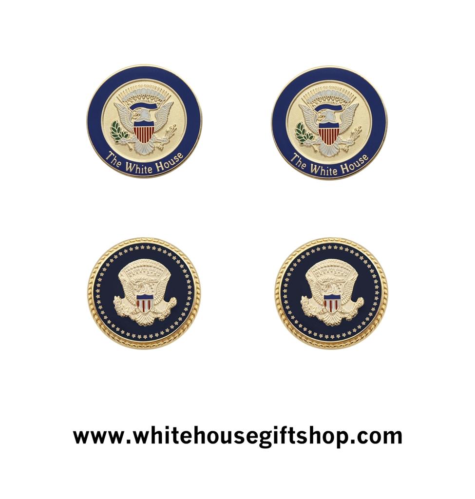 STARS Pair of  new  presidential secret service cufflinks