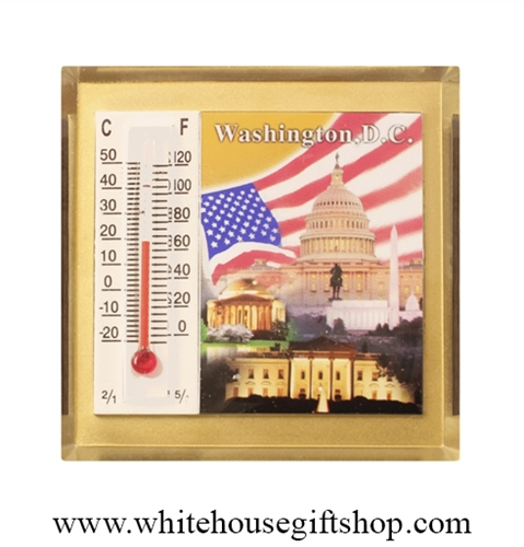 U.S. Capitol Thermometer & Magnet