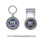 Coast Guard Money Clip & Keyring