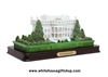 White House Acrylic Model on Base, from Official White House Gift Shop, Est. 1946