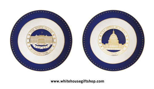 White House & Capitol Plates