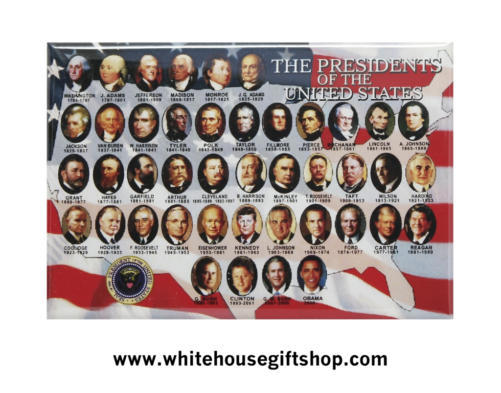 All Presidents Of The United States Magnet