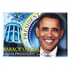 President Barack Obama, 44th President, magnet with Seal of the President and the White House-from official White House Gift Shop established 1946 by President Truman and U.S. Secret Service