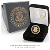 Seal of President Lapel pins, hat pin, White House Seal, 24K gold, custom gift box, quality upgraded clasp