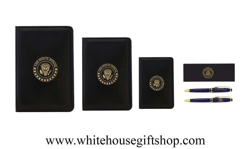 The White House Presidential Folios And Pen Gift Set Large Folio