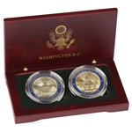 White House & Capitol Coin Set