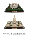 White House & United States of America Capitol Building Model,  Washington D.C.