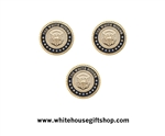 White House Seal Cufflinks & Lapel Pin