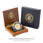 Capitol Coin in Wood Coin Case