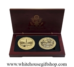 White House & D.C. Memorial Coin Set