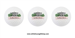 Three White House Golf Balls