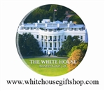 White House South Lawn Oval Magnet