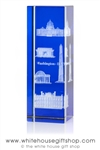 National Monuments Glass Hologram from the White House Gift Shop's Presidential Gifts Collection