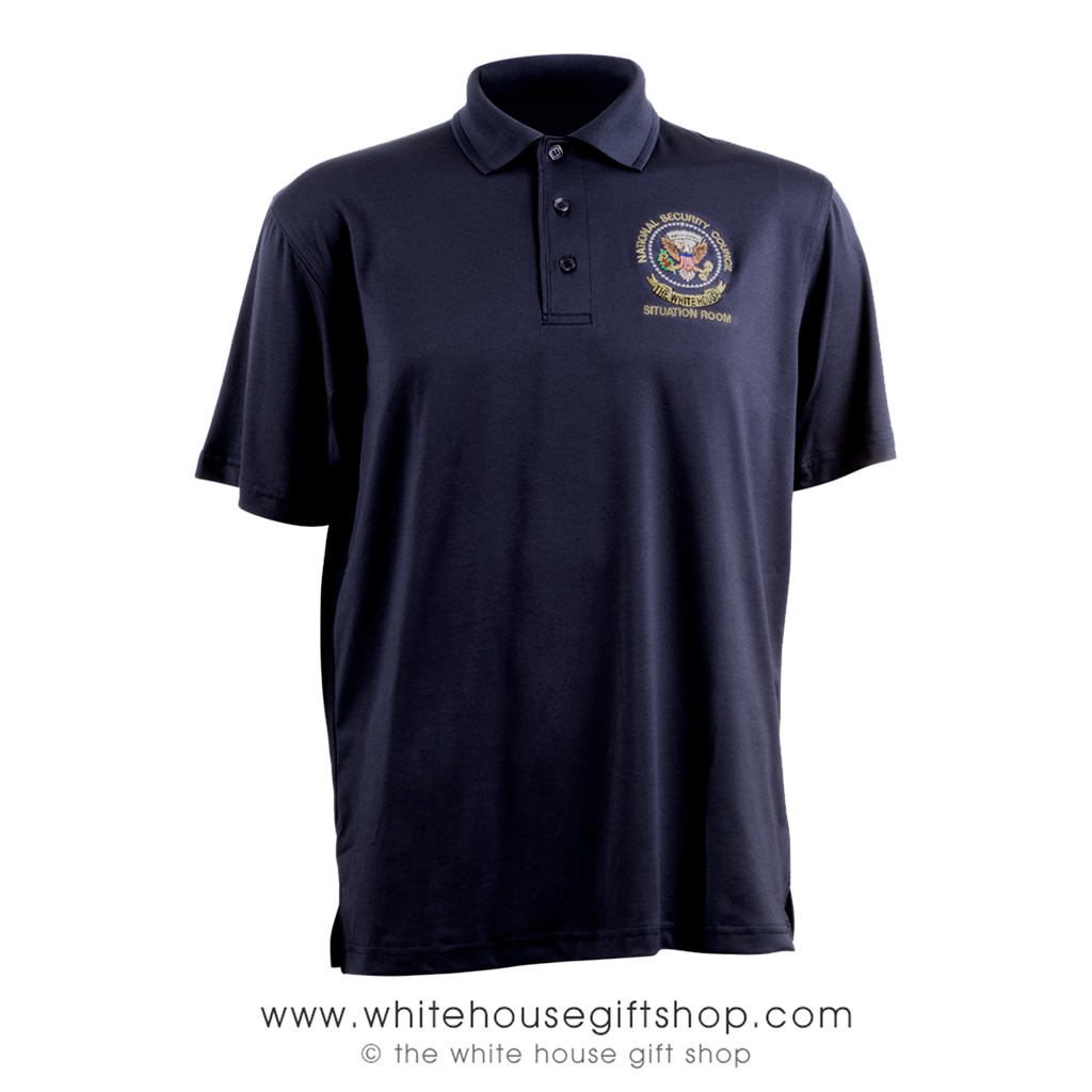 National Security Council Polo Golf Shirt The White House Situation